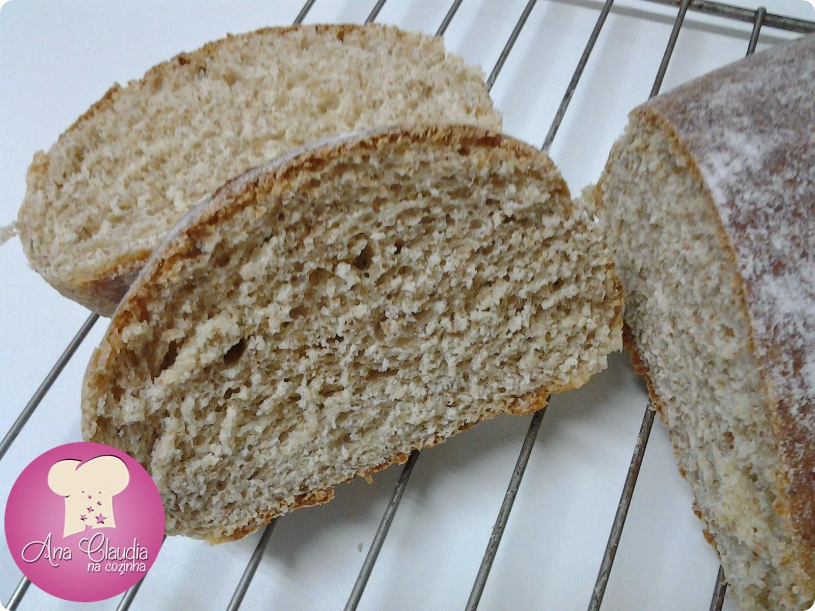Pão de Centeio e Farinha Integral