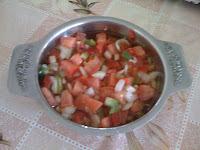 molho vermelho para churrasco simples
