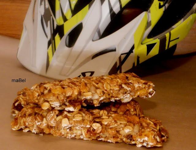 barras de cereal sin horno