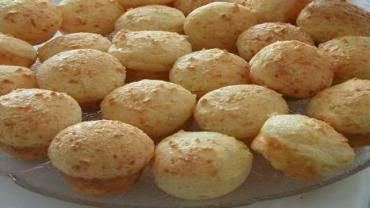 Pão de Queijo de Batata de Liquidificador