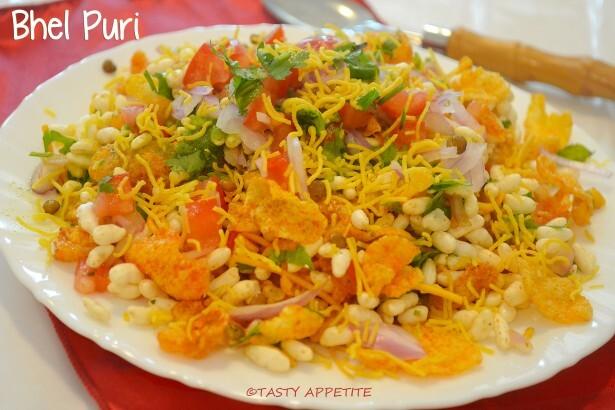 Bhel Puri Recipe / Indian Chat Recipes / Healthy Snack Recipes