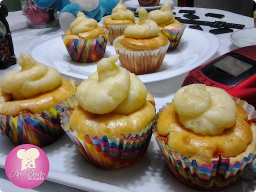 Cupcakes de Cachorro Quente