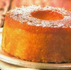 de bolo de mandioca no liquidificador com farinha de trigo