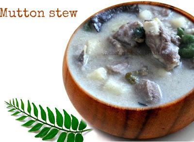 Kerala style Mutton ishtu(stew)