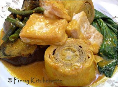 Tofu Kare-Kare (Kare-Kareng Gulay at Tokwa)