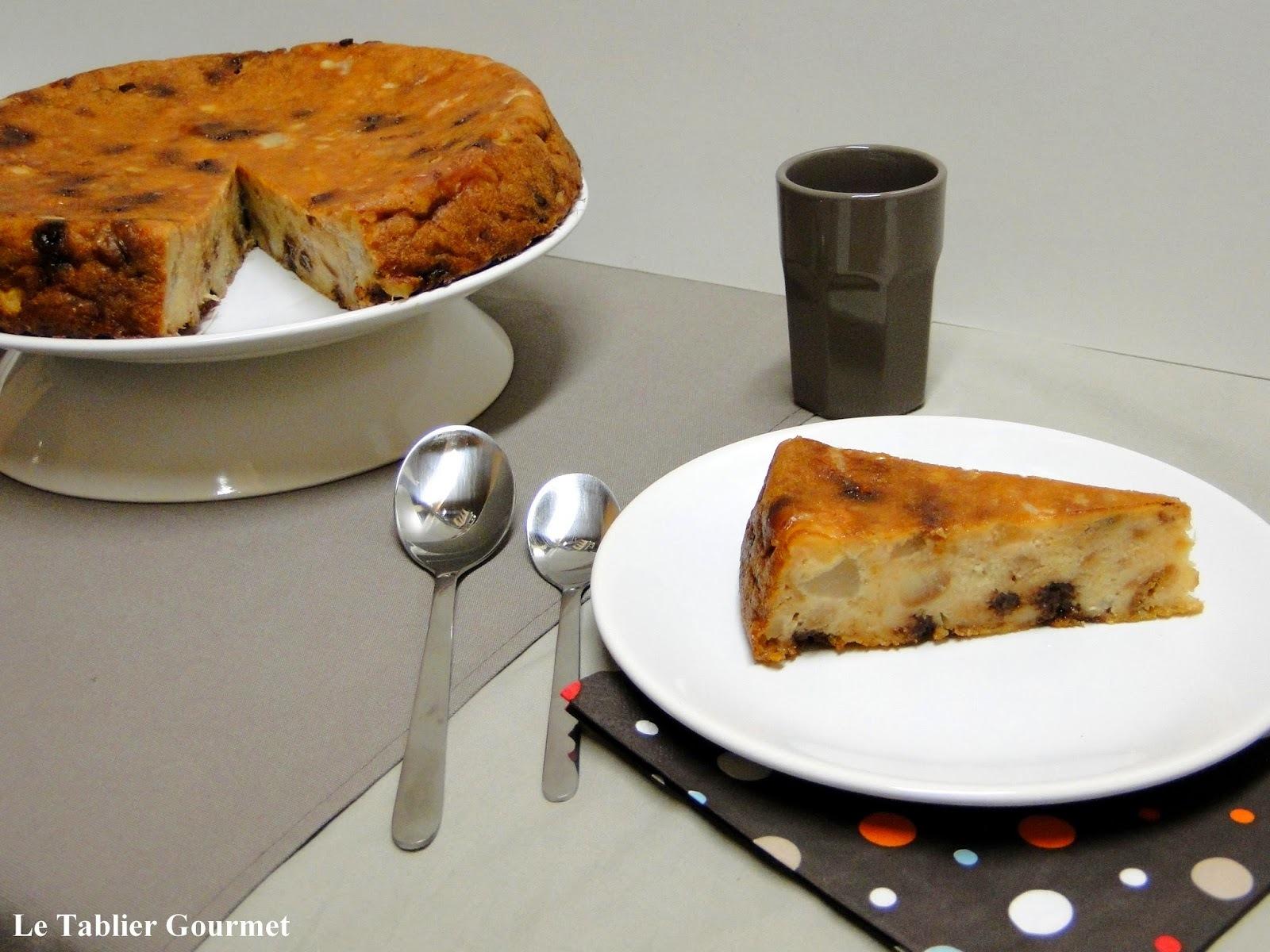 Le pudding aux poires et au chocolat : on transforme le pain rassis en dessert rapide, facile et pas cher !