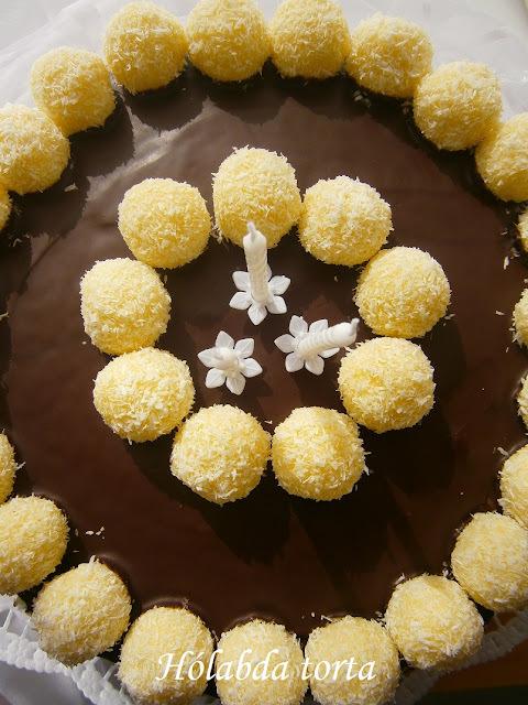 Hólabda torta Citromhabtól - Csenge 3 éves!