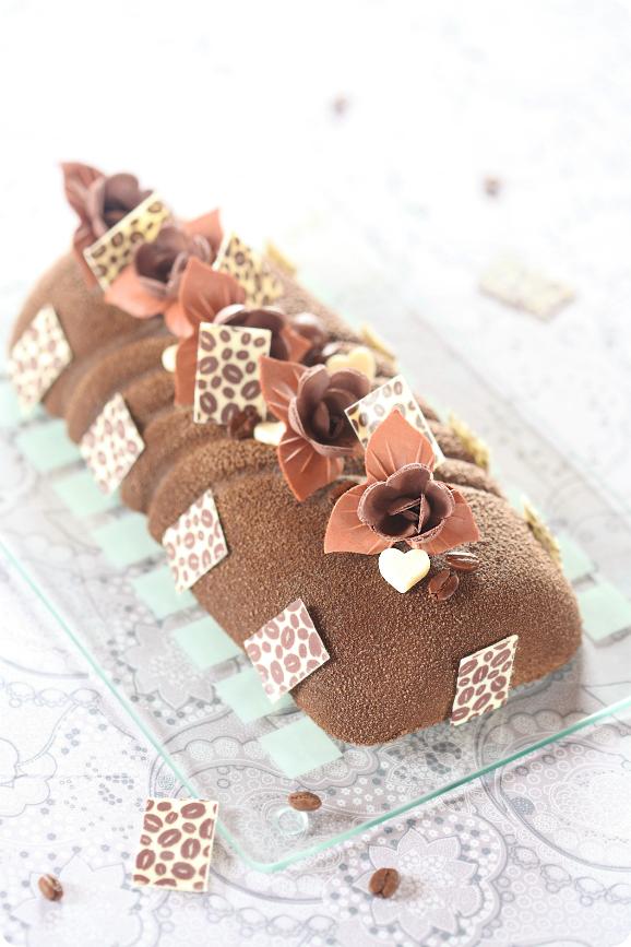 """Торт """"Кофе и шоколад"""" / Torta mousse """"Café e chocolate"""""""