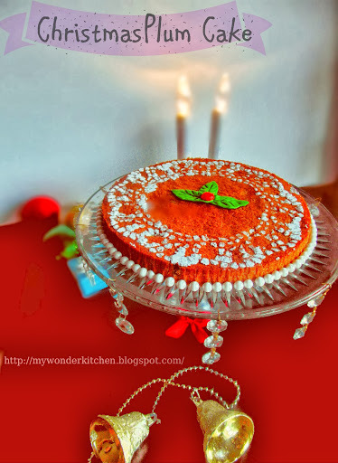 Christmas Plum cake - Kerala style (Alcohol free)