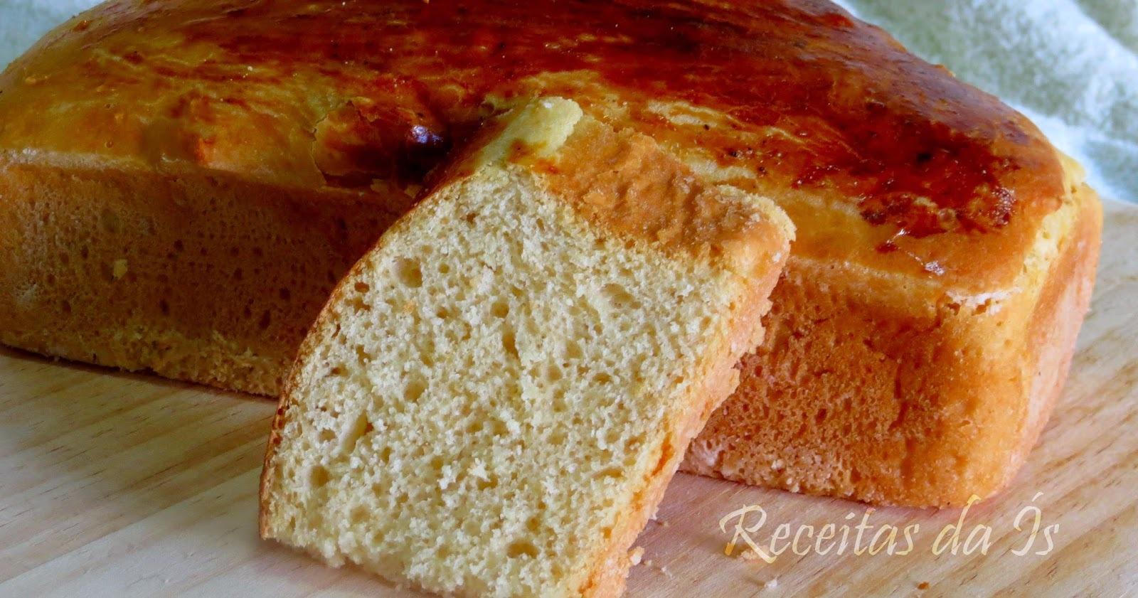 pão caseiro sem ovo