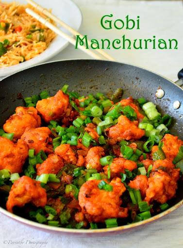 Gobi Manchurian (DRY) Recipe