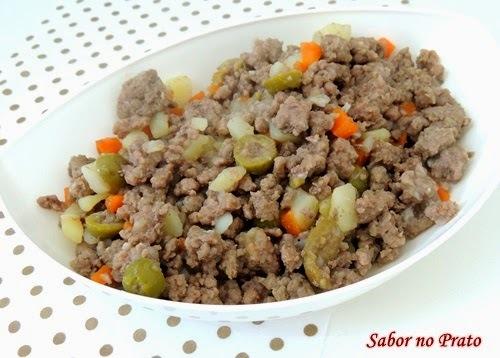 Como fazer Carne Moída com Batata