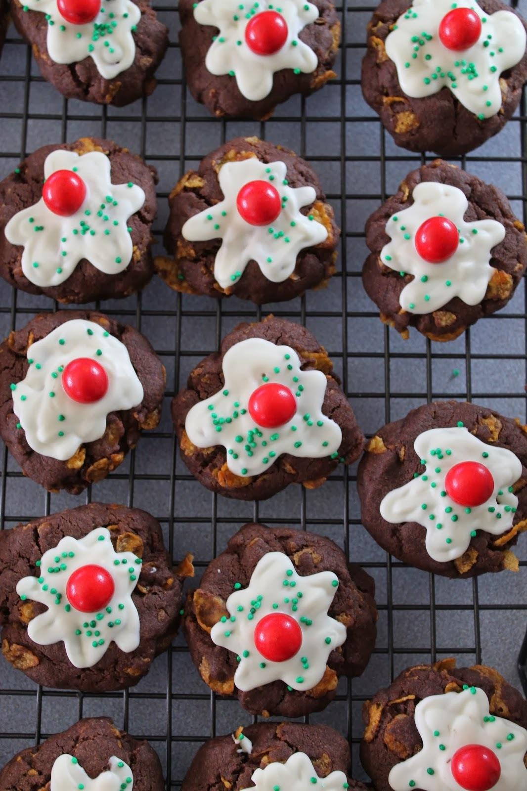 Chocolate Afghan Christmas Pudding Cookies Recipe