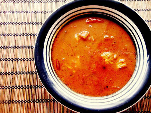 Tamil Nadu Style Fish Curry - Meen Kuzhambu Recipe