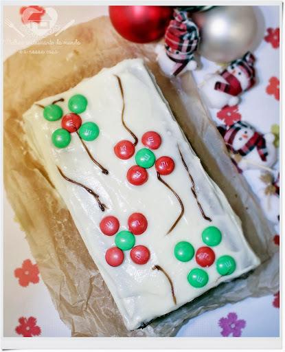 Um bolo com gostinho de natal