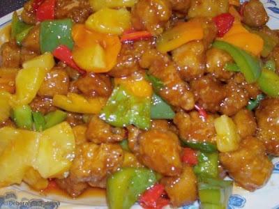 lombo de porco frito chines
