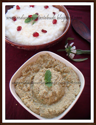 Gram Dal chutney and A Tribute to Chef Jacob