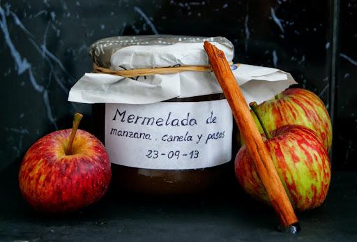 Mermelada de Manzana, Canela y Pasas