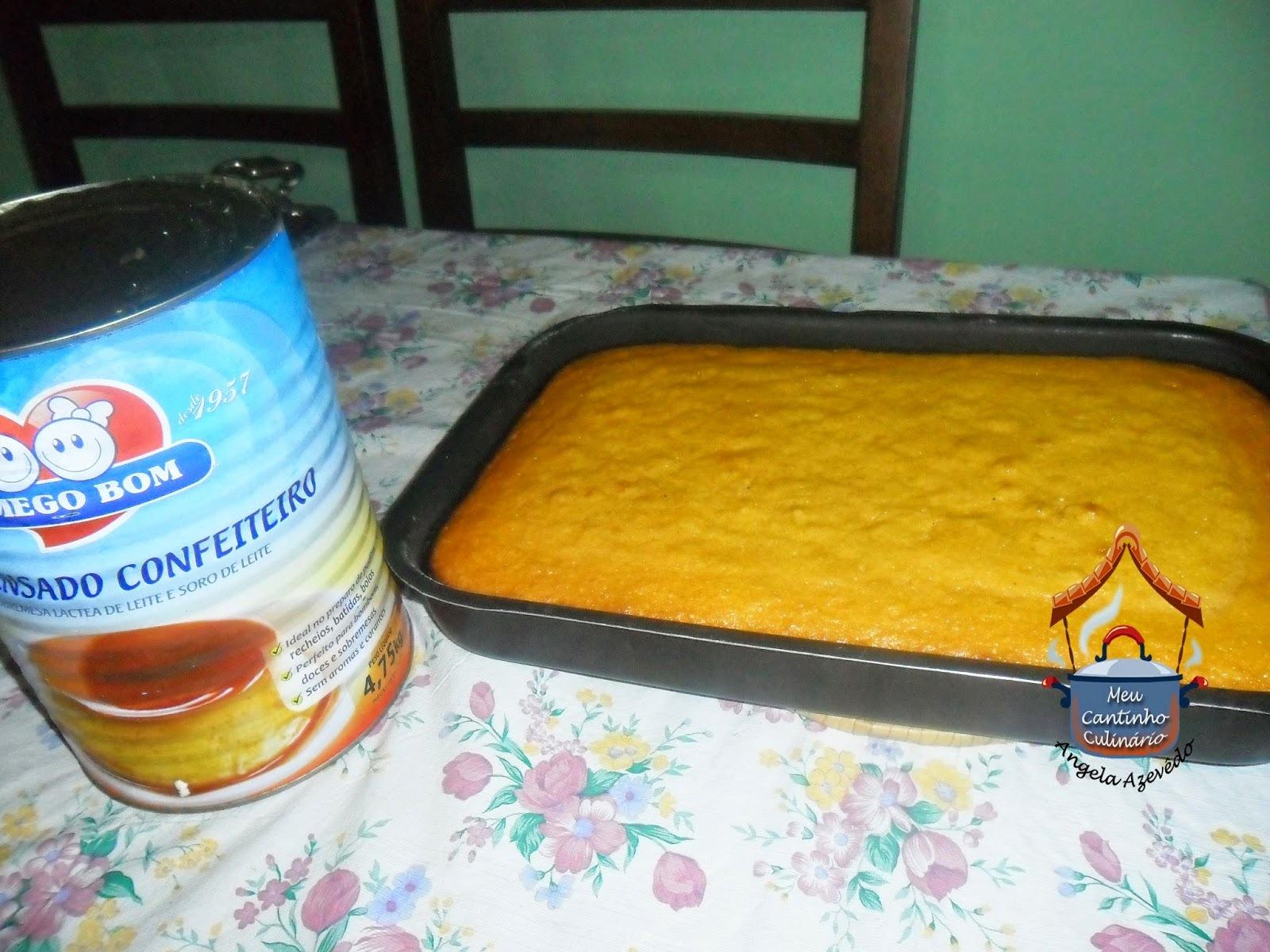 bolo de milho com milharina no liquidificador uma lata de milho com agua