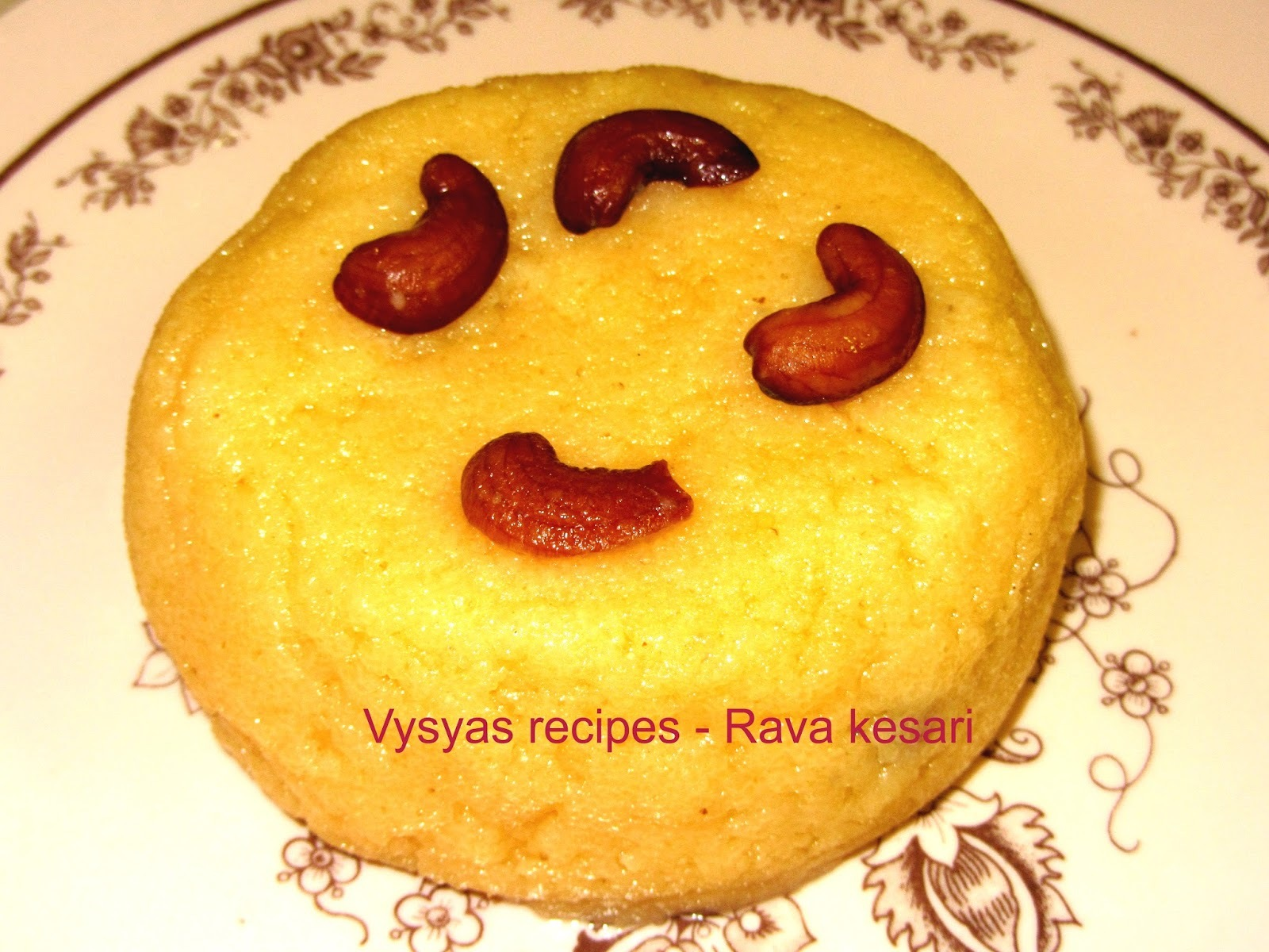 Rava Kesari - (With pictures) - Sheera - Sooji Halwa - festival Recipes