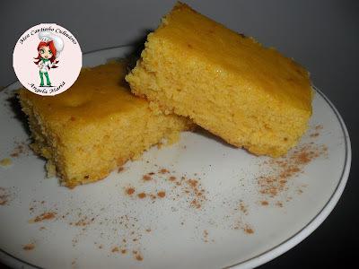 farinha de milho flocada bolo