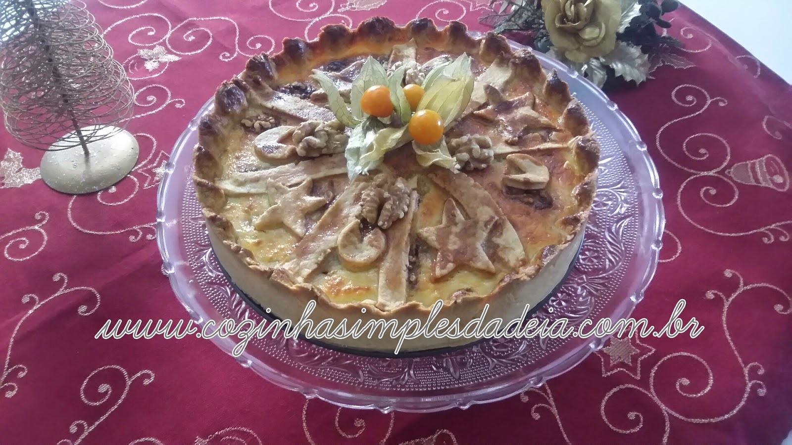 Pezza Dolce - ( Torta de Ricota )