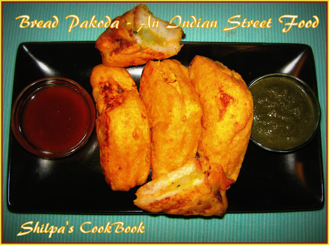 Bread Pakoda - An Indian Street Food