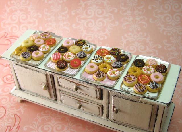 Donuts: bonitos e deliciosos.