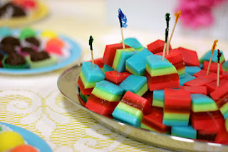 gelatina camadas colorida 250 ml água
