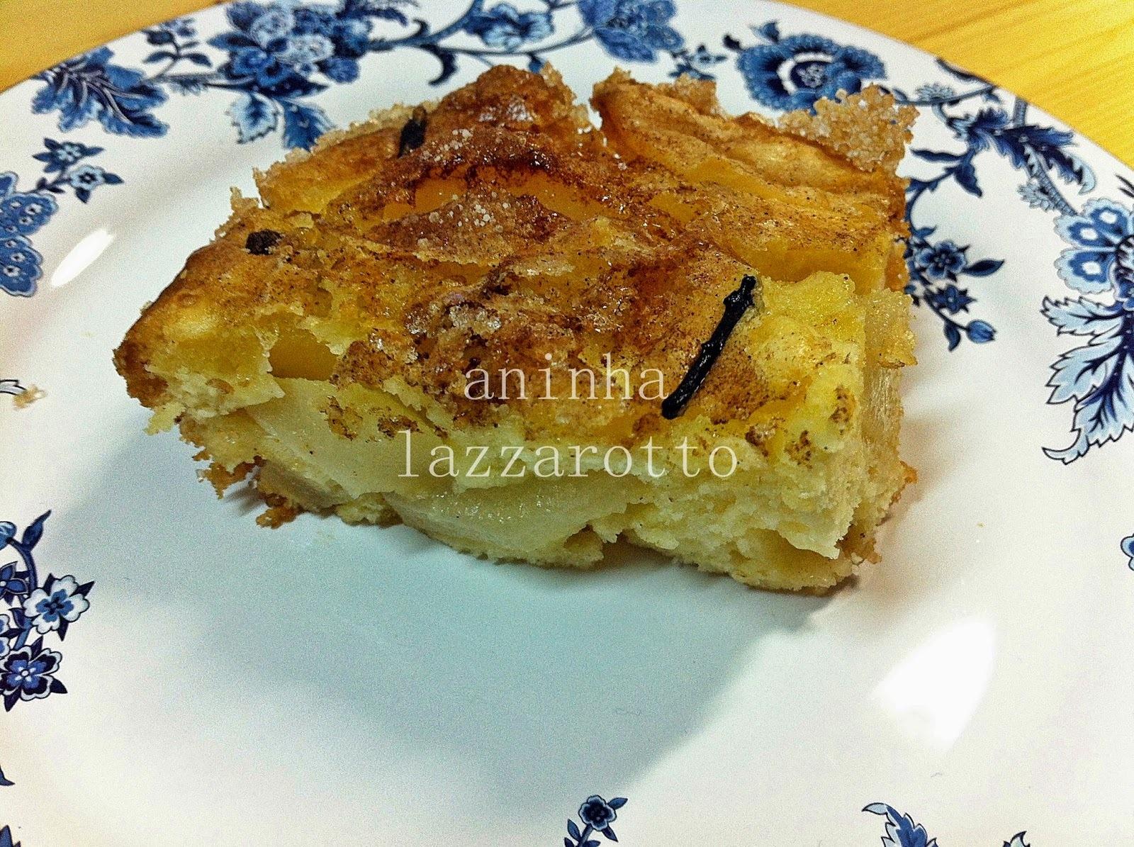 Torta Camponesa de Pêras