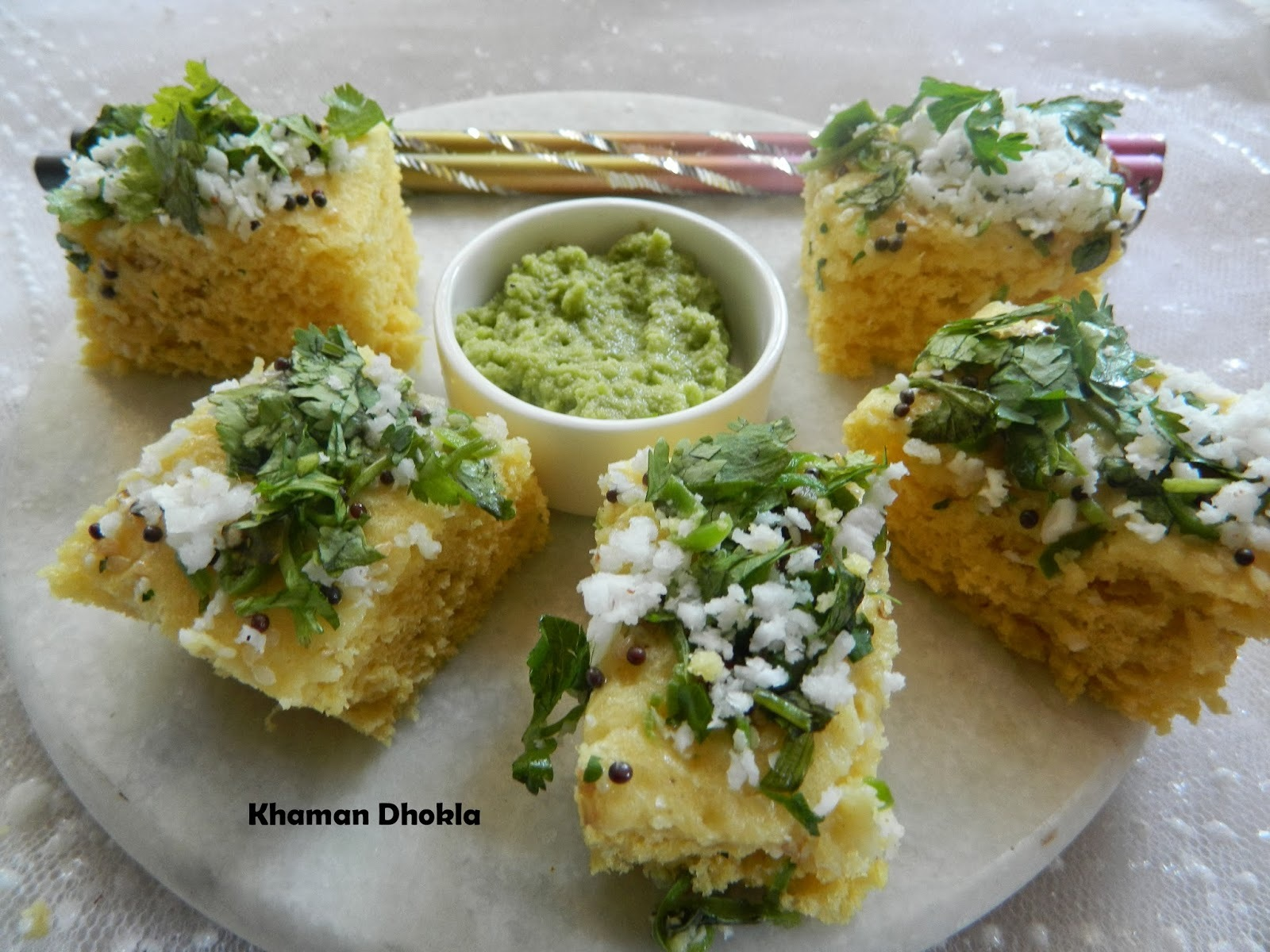 Khaman Dhokla,version 2