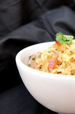 Arroz frito al estilo tailandés