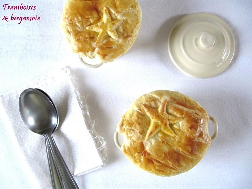 Soupe pie de potiron aux noix Saint Jacques