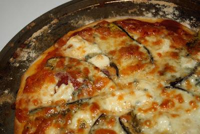 Pizza Bresaola - Aubergine - Gorgonzola