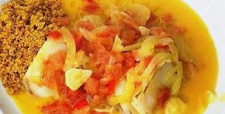 Bacalhau Assado com Molho Bechamel sem Farinha