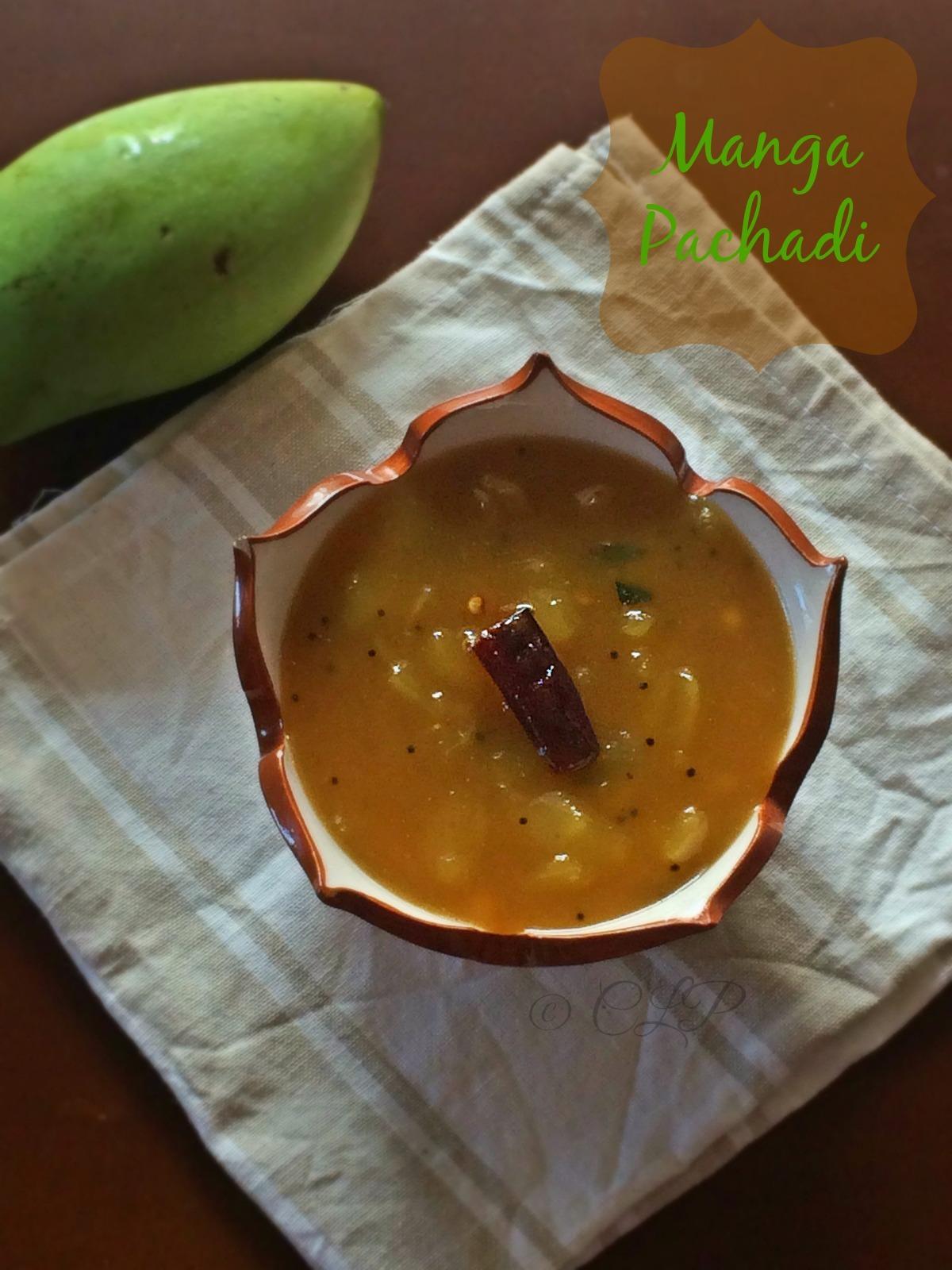Raw Mango Pachadi | Sweet & Tangy Mango Thokku | Raw mango Side recipe