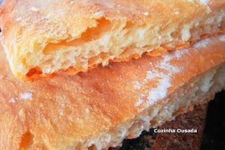 Pão Ciabatta Cascão