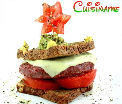 Hamburguesas Gourmet | Receta de Hamburguesas con Guacamole