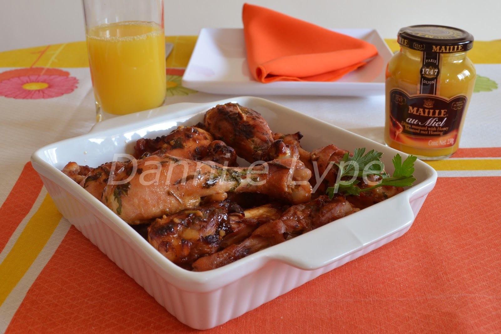 molho de mostarda e mel para temperar frango