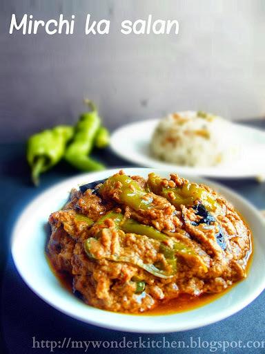 Mirchi ka salan|Hyderabad special chilli pepper curry