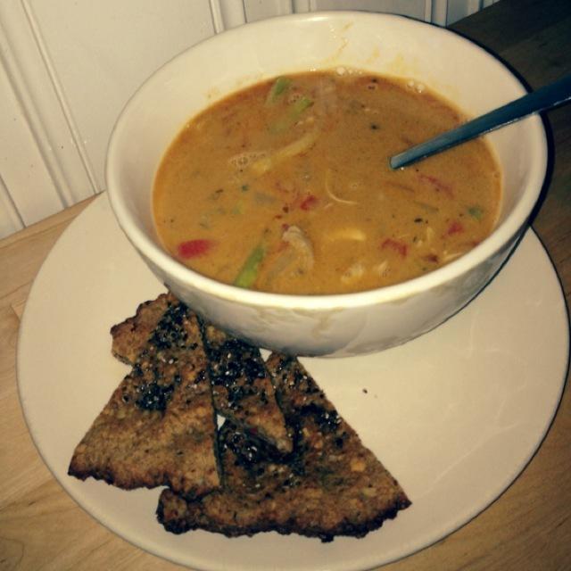 Indisk simsalabim suppe