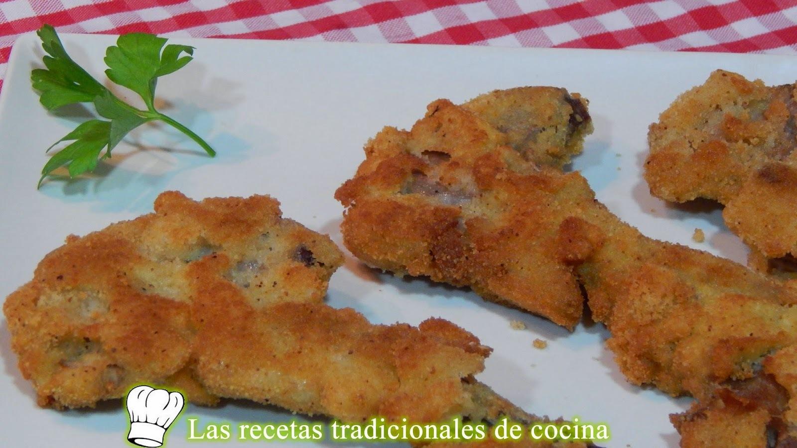 Receta de chuletas de cordero empanadas con bechamel