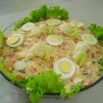 enfeite para por em cima da salada de maionese