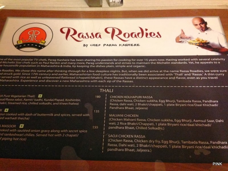 Restaurant Review -- Rassa Roadies