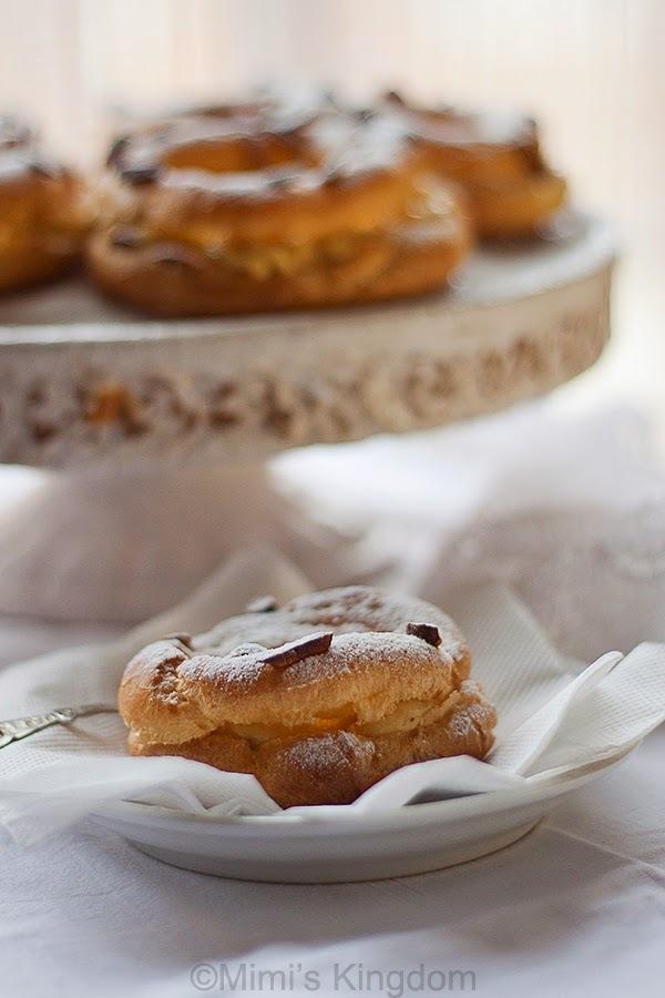 Paris Brest - Daring Bakers Challenge, Novembar 2014.