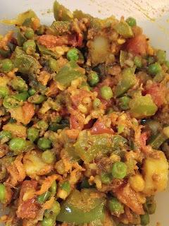 Mix Vegetable Dry Sabzi