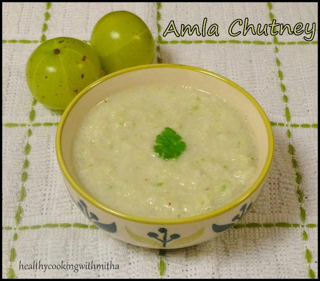 Amla/Gooseberry Chutney | Avale Gojju