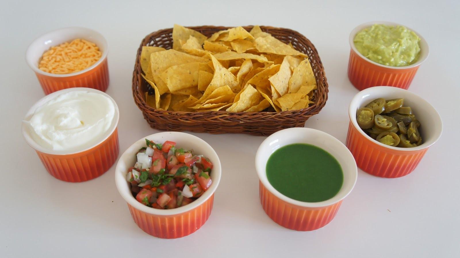 taco comida mexicana com doritos