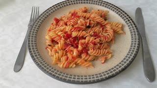 Espagueti con jitomate