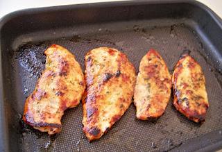 como temperar peito de frango simples